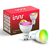 Innr GU10 Smart LED Spot Color, works with Philips Hue*, Alexa, Google Home, SmartThings (Bridge erforderlich) dimmbar, bis zu 16 Millionen Farben, RS 230 C-2