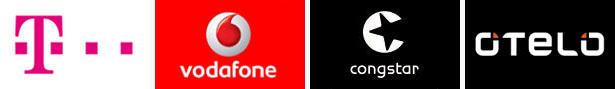 Partner von Telekom, Vodafone, Congstar und Otelo