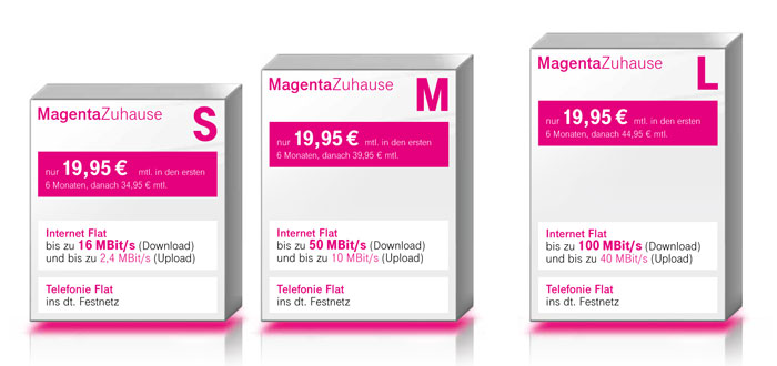 Telekom Magenta Zuhause Festnetz DSL LTE