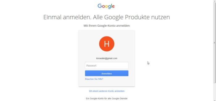 google mail ausloggen