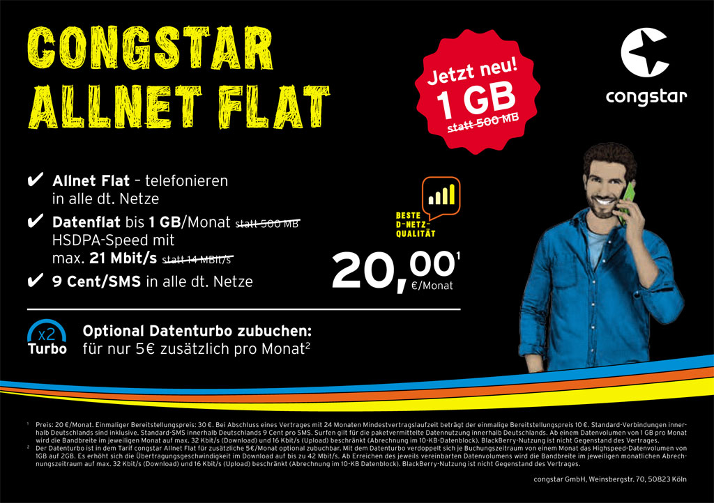 congstar allnet flat festnetz dsl lte mobilfunk in winsen aller. Black Bedroom Furniture Sets. Home Design Ideas