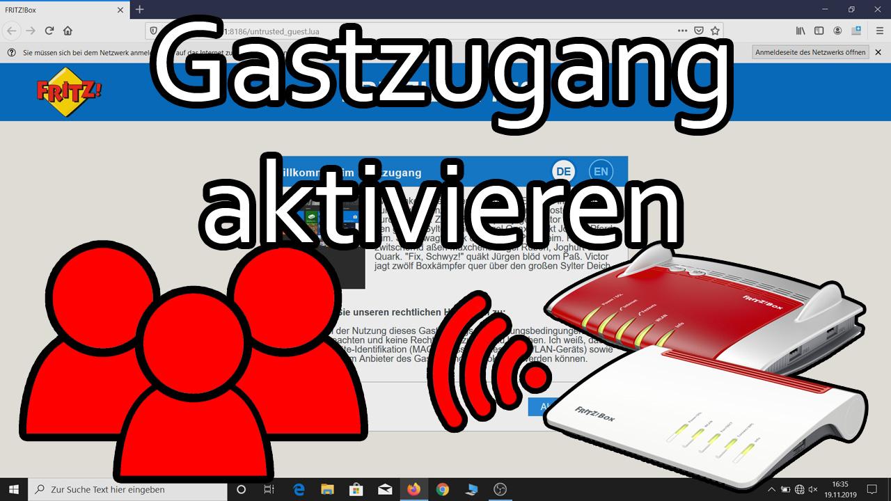 Fritzbox   Gastzugang einrichten und Optionsübersicht   knowaTEL ...