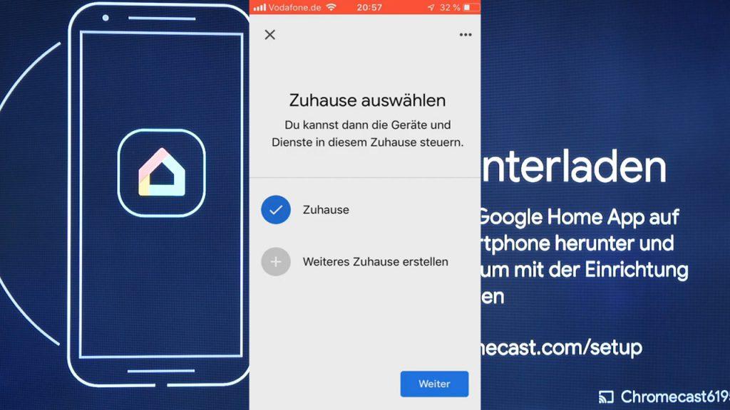 ein Zuhause für den Google Chromecast